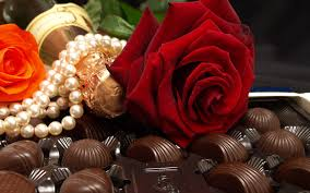 flowers and chocolate chocolate with flowers birthday wishes hd wallpapers rocks