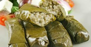 ricette cucina turca involtini di foglie di vite dolmades ricetta greenstyle