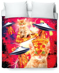 Space Single Duvet Cover Duvet Covers Cat Duvet Set Single Cat Print Double Duvet Cover