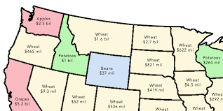 Radford University Map 2 Simple Maps That Reveal How American Agriculture Actually Works