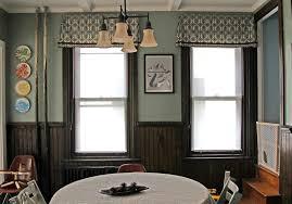dining room valances home interior design ideas
