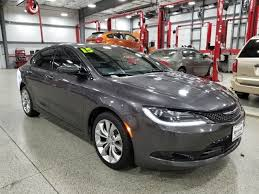 2015 Chrysler 200s Interior Used 2015 Chrysler 200 S Dixon Il Ken Nelson Auto Group