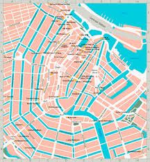 Bluebird Map Den Haag Netherlands Tourist Map Den Haag U2022 Mappery