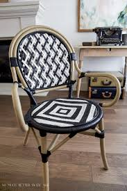 White Bistro Chair Diy French Bistro Chair So Much Better With Age