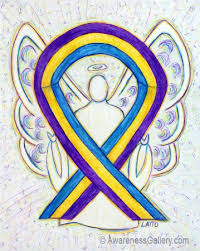 blue support ribbon blue marigold purple awareness ribbon meaning for bladder cancer