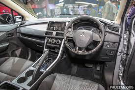 asx mitsubishi 2017 interior giias 2017 mitsubishi xpander production suv styled mpv makes