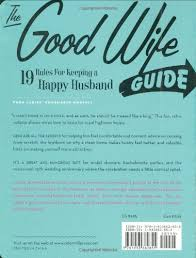 the guide 19 for keeping a happy husband