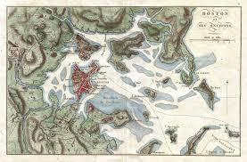 Boston Maps by File 1807 Buache Map Of Boston Massachusetts Geographicus