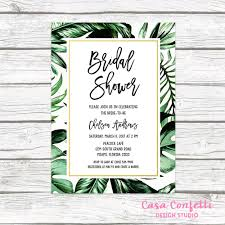 palm tree wedding invitations tropical bridal shower invitation tropical invitation palm tree