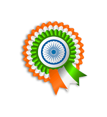 Flag If India Ribbon India Flag Transparent Png Stickpng