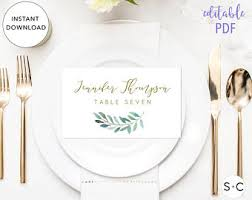 folded table place cards folded place cards etsy