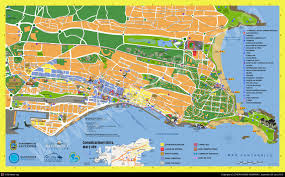 Port Of Spain Map by Santander Spain Cruise Port Of Call
