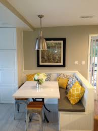 built in kitchen seating design kitchen window seat