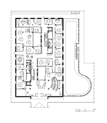 ground floor plan gallery of bank of pisa and fornacette hq massimo mariani 24