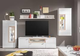 Wohnzimmerschrank Verschieben Prag Wohnwand 2 Anbwauwand Wohnzimmer Wohnkombination Weiß