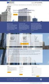 Residential Design Websites Commercial Mortgage Website Templates