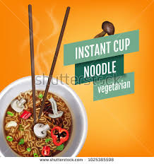 vector illustration instant cup noodles เวกเตอร สต อก