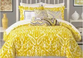 Yellow Bedding Set Yellow Grey And White Comforter Set Beautiful New King
