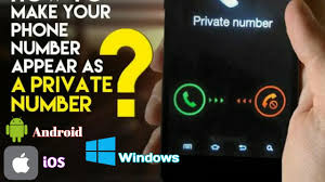 how to make your number on android how to show your number as number android ios windows