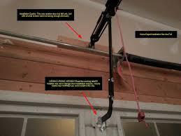 how do you install a garage door opener diy fix u2013 home depot installation service fail garage door opener