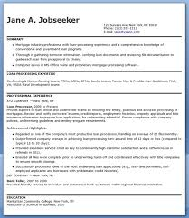 What Does Resume Sample Of Loan Processor Resume For Job Application