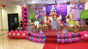 Decoration Ideas For Birthday Party At Home Interior Design Amazing Princess Themed Birthday Decorations