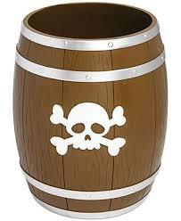 Pirate Bathroom Decor by Kassatex Bath Accessories Pirates Trash Can Pirate Bathroom