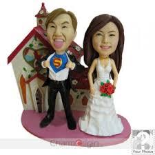 custom cake topper custom wedding cake topper bobbleheads creative ideas