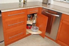 corner kitchen cabinet squeeze more spaces home design u0026 decor