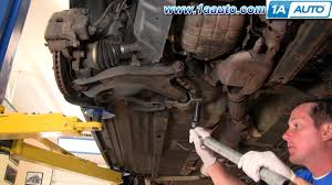 how to install replace worn ripped rh cv joint axle 2002 03 nissan