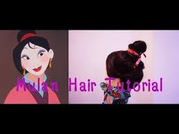 mulan hair comb mulan hair tutorial
