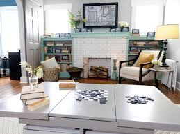 Leather Game Table Chairs Photo Page Hgtv