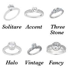 types of wedding ring types of engagement rings 2 different types of engagement ring