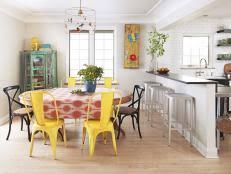 Creative Kitchen Backsplash Ideas Pictures From HGTV HGTV - Creative backsplash