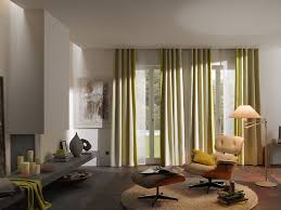 Draperies Ideas Decorations Chic Green Ripple Fold Drapes Ideas With Plain Top