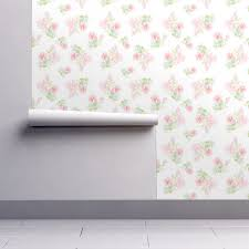 Watercolor Wallpaper For Walls by Watercolor Floral Peonies For Alice Wallpaper Nataliemalan