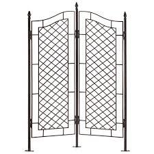 amazing metal garden screen trellis 96 in best interior with metal