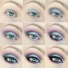 blue eyes makeup tutorial