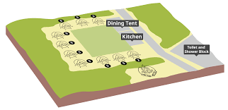 Centre Bell Floor Plan by Gilwell Park Facilities Scouts