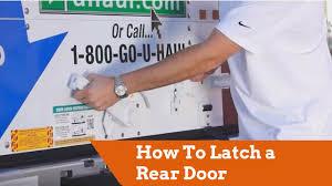 Uhaul Estimate by How To Latch A Rear Door On A U Haul Truck
