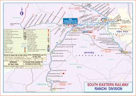 Double Map South Eastern Railway