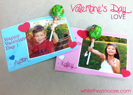 kid valentines while they snooze kid s day cards for school friends