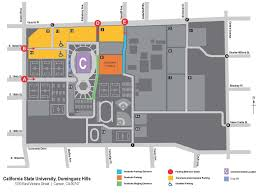 csudh map directions and parking
