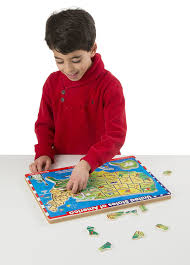 Map Puzzle Usa by Amazon Com Melissa U0026 Doug Usa Map Sound Puzzle Wooden Puzzle