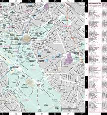 Map Rome Streetwise Rome Map Laminated City Center Street Map Of Rome