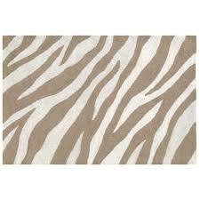 Zebra Rug Pottery Barn by Zebra Rug Brown Roselawnlutheran