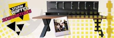 Kleiner Schreibtisch Holz Der Sturmwaffel Schreibtisch Wohnsektion