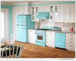 attractive retro kitchen sets furniture photo
