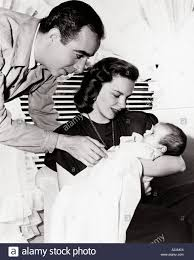 Judy Garland Judy Garland With Husband Vincent Minnelli And Daughter Liza Stock