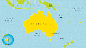 New Zealand And Australia Map Australia Country Profile National Geographic Kids